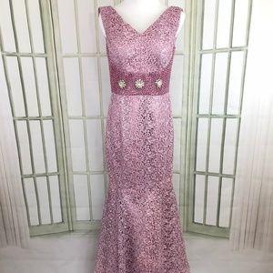 Dresses & Skirts - Elegant Embellished Sequins Mermaid Prom Dress